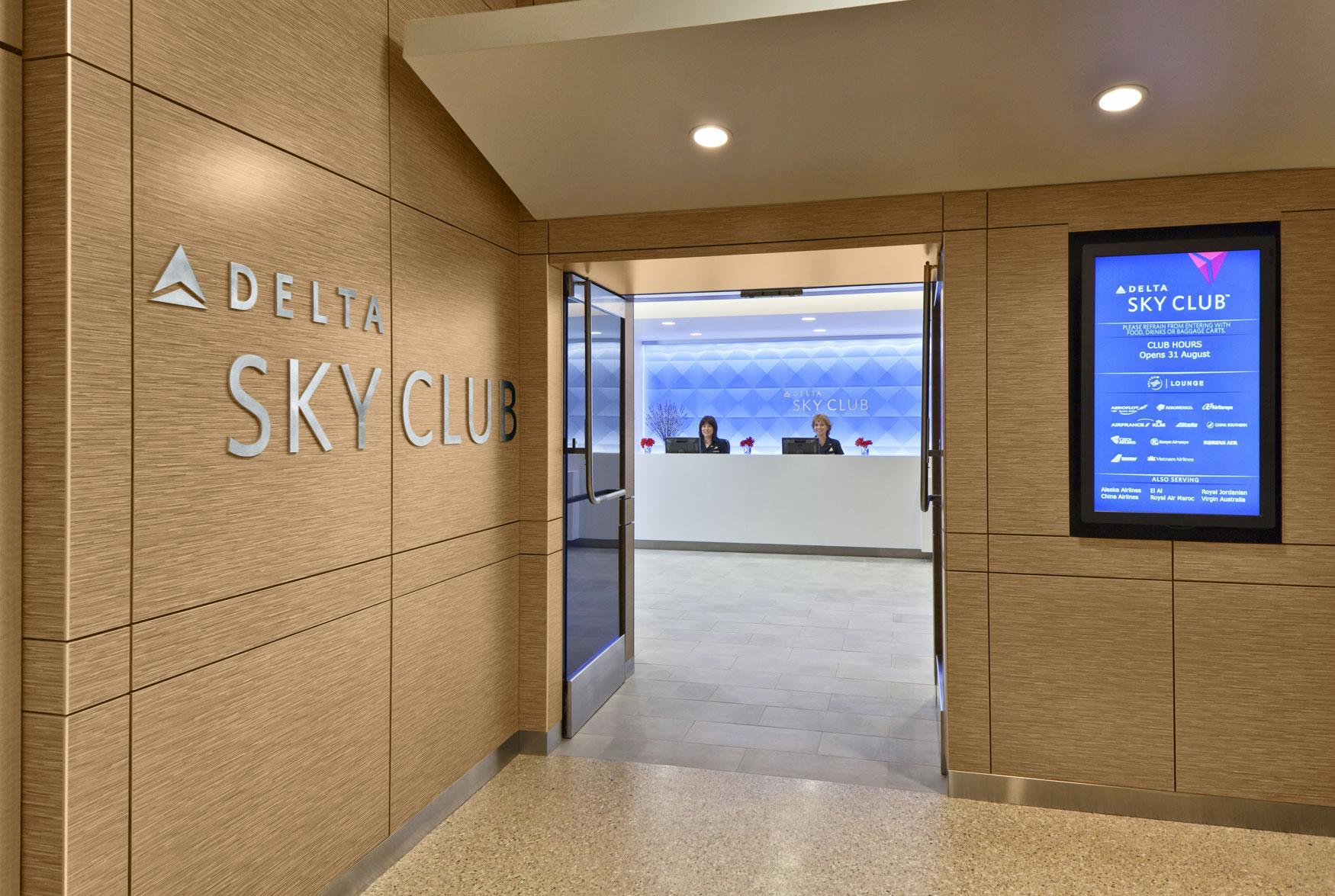 Delta Air Lines Sky Club